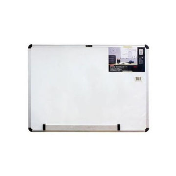Picture of White Board with Magnetic Frame - White