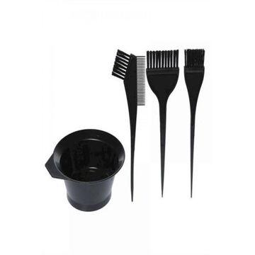 Picture of Hair Dye Brush Kit, Black - Set of 4