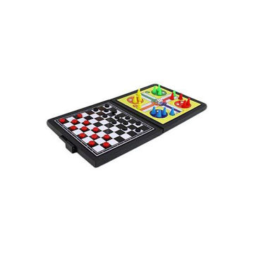 Picture of Magnetic 5 in 1 Chess & Ludo Family Game