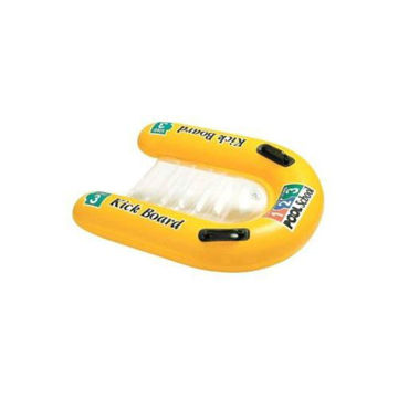 Picture of U-Shaped Inflatable Kick Board - Yellow