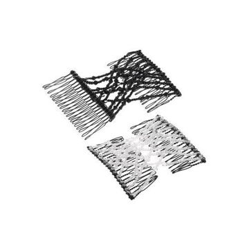 Picture of Beaded Wire Clip, Black & White - Set Of 2