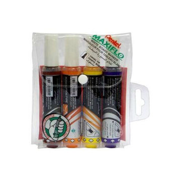 Picture of White Board Marker Set, Multicolour - Set Of 4