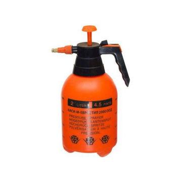Picture of Spray Bottle Pump, Orange & Black - 2L