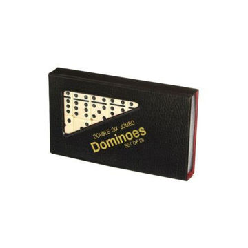 Picture of Domino Tile Game with Case - Set of 28