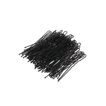 Picture of Waved U-Shaped Bobby Pin Set, Black - Set of 100