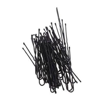 Picture of Thin U-Shape Hair Bobby Pin Set, Black - Set of 50