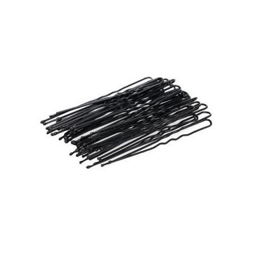 Picture of Curly U-Shaped Hair Pin Set, Black - Set of 100