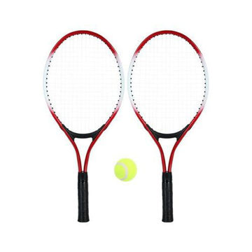 Picture of Tennis Racket With Ball - Set of 3