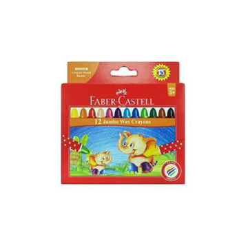 Picture of Jumbo Round Wax Crayons Set, Multicolour - Set of 12