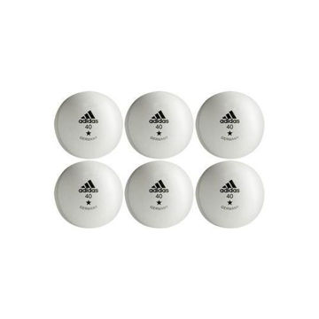 Picture of Table Tennis Training 40mm Ball, White & Black - Set of 6