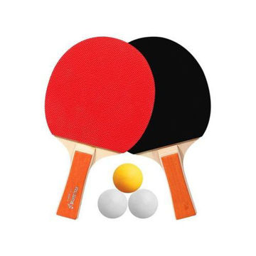 Picture of Table Tennis Racket And Balls - Set of 5