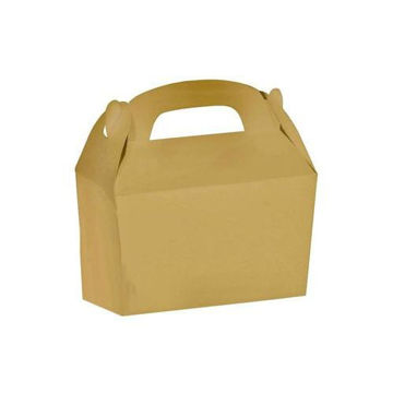 Picture of Part Time 30cm Treat Box, Brown - Set Of 12
