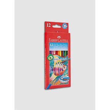 Picture of Water Colour Pencil With Brush, Multicolour - Set of 12