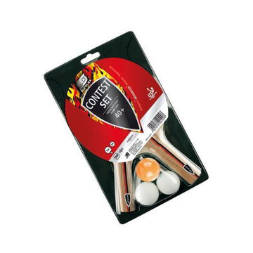 Picture of Contest Table Tennis Racket with Ball - Set of 5