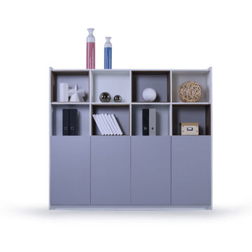 Picture of Neo Front File Storage Cabinet, Grey