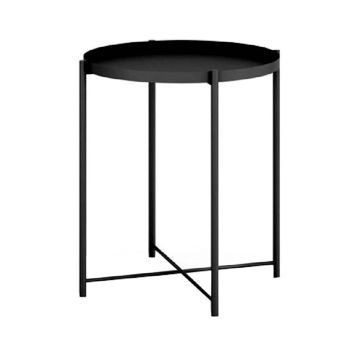 Picture of Neo Front Round Coffee Table, Black