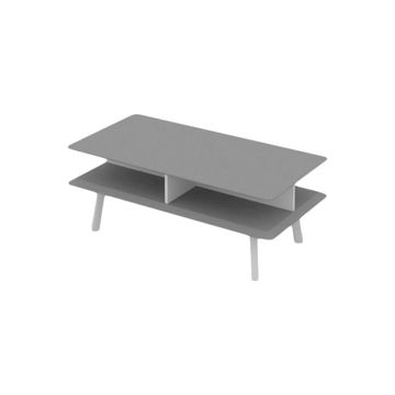 Picture of Neo Front Rectangular Center Table, Grey