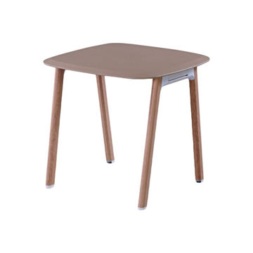 Picture of Neo Front Waterproof Square Table, Brown