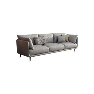 Picture of Neo Front Scratch Proof 3-Seater Fabric Sofa, 220 cm, Grey