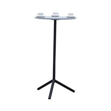 Picture of Neo Front High Table, Grey