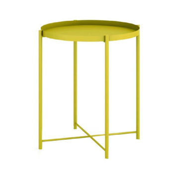 Picture of Neo Front Round Coffee Table, Yellow