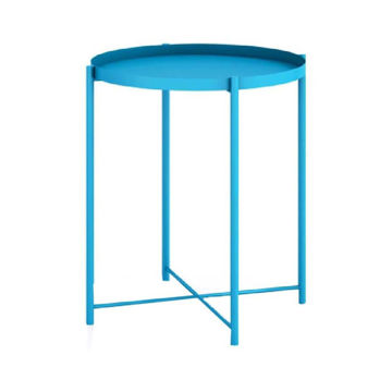 Picture of Neo Front Round Coffee Table, Blue