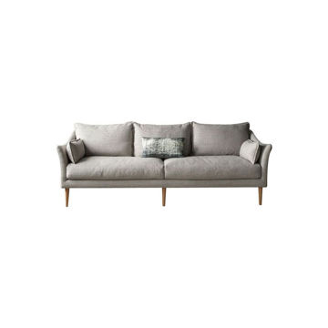 Picture of Neo Front 3 Seater Fabric Sofa, Grey