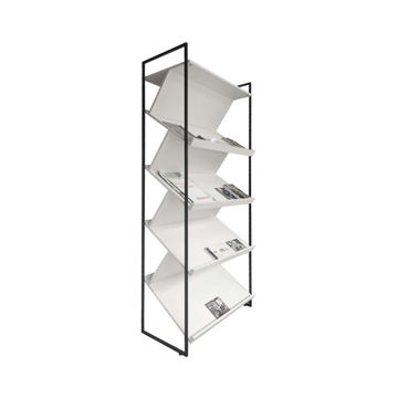 Picture of Neo Front Iron Magazine Rack, White