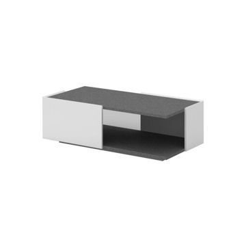 Picture of Neo Front Rectangular Center Table, Grey & White