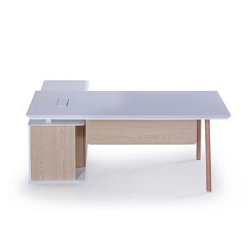 Picture of Neo Front Executive Office Desk, 1.6 m, White