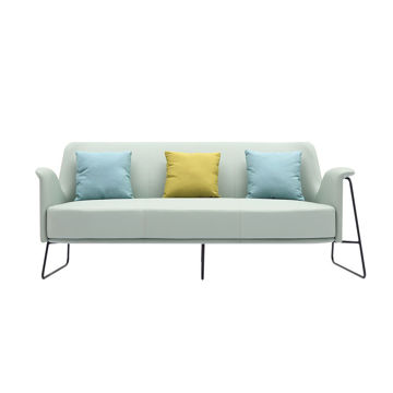 Picture of Neo Front 5 Seater Leather Sofa Set, Blue