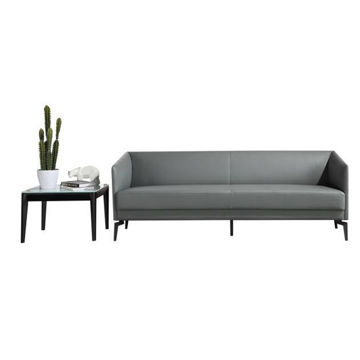 Picture of Neo Front Leather Sofa Set, Grey