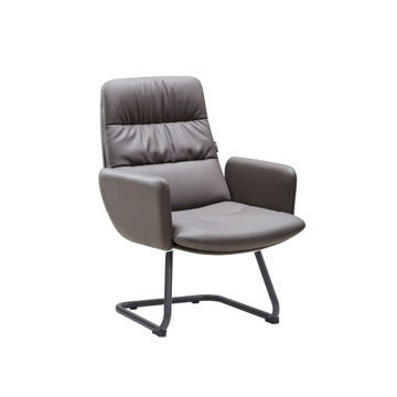 Picture of Neo Front PU Leather Office Chair, 60 cm, Grey