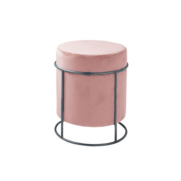 Picture of Neo Front Round Fabric Sofa Chair, Pink