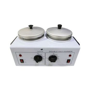 Picture of Double Wax Heater, MB-52042B - White