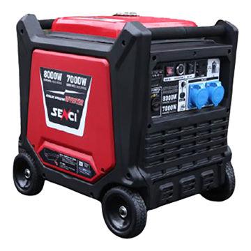 Picture of Senci Silent Gasoline Generator with Inverter, SC8000i, 7.0 kW