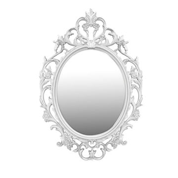 Picture of Lingwei European Style Wall Mounted Mirror White-L