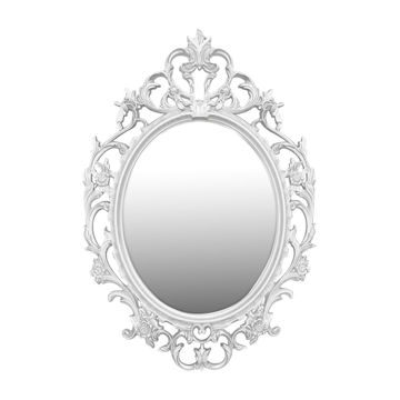 Picture of Lingwei European Style Wall Mounted Mirror White-M