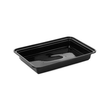Picture of Rectangular Container Base, Black - Pack of 150