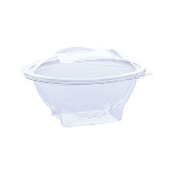 Picture of Hotpack Round Salad Bowl, 946 ml, Clear - Pack of 300