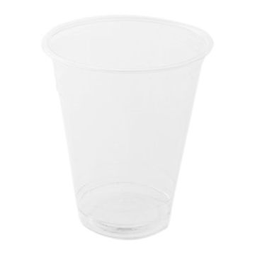 Picture of Hotpack Plastic Pet Cups, 295 ml, Clear - Pack of 1000
