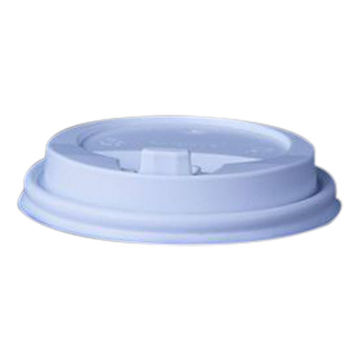 Picture of Hotpack Reclosable Lid for Paper Cup, White - Pack of 500