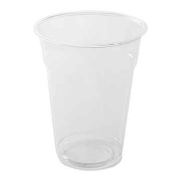 Picture of Hotpack Plastic Pet Cups, 414 ml, Clear - Pack of 1000