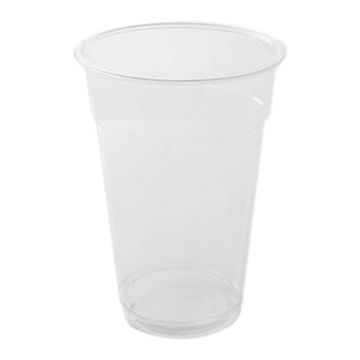 Picture of Hotpack Plastic Pet Cups, 473 ml, Clear - Pack of 1000