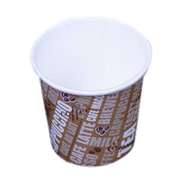 Picture of Hotpack Single Wall Paper Cup, 118 ml, Multicolor - Pack of 1000