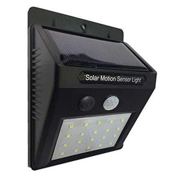 Picture of 20 LED Solar Motion Sensor Light Outdoor Path Wall Lamp