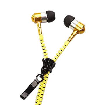 Picture of In-Ear Zip Zipper Style Headphone