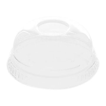 Picture of Hotpack Dome Shaped Lids, 7.8 cm, Clear - Pack of 1000