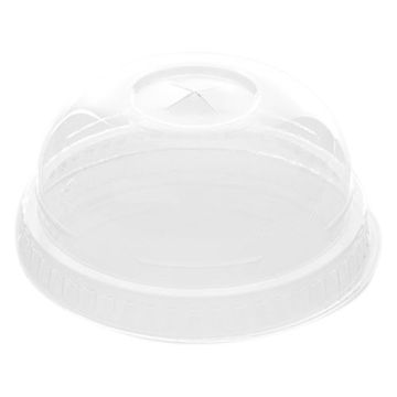 Picture of Hotpack Dome Shaped Lids, 473-710 ml, Clear - Pack of 1000