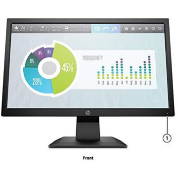 Picture of HP P204 Anti-Glare LED Monitor, 19.5inch